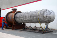 Titan Metal fabricators heat exchanger
